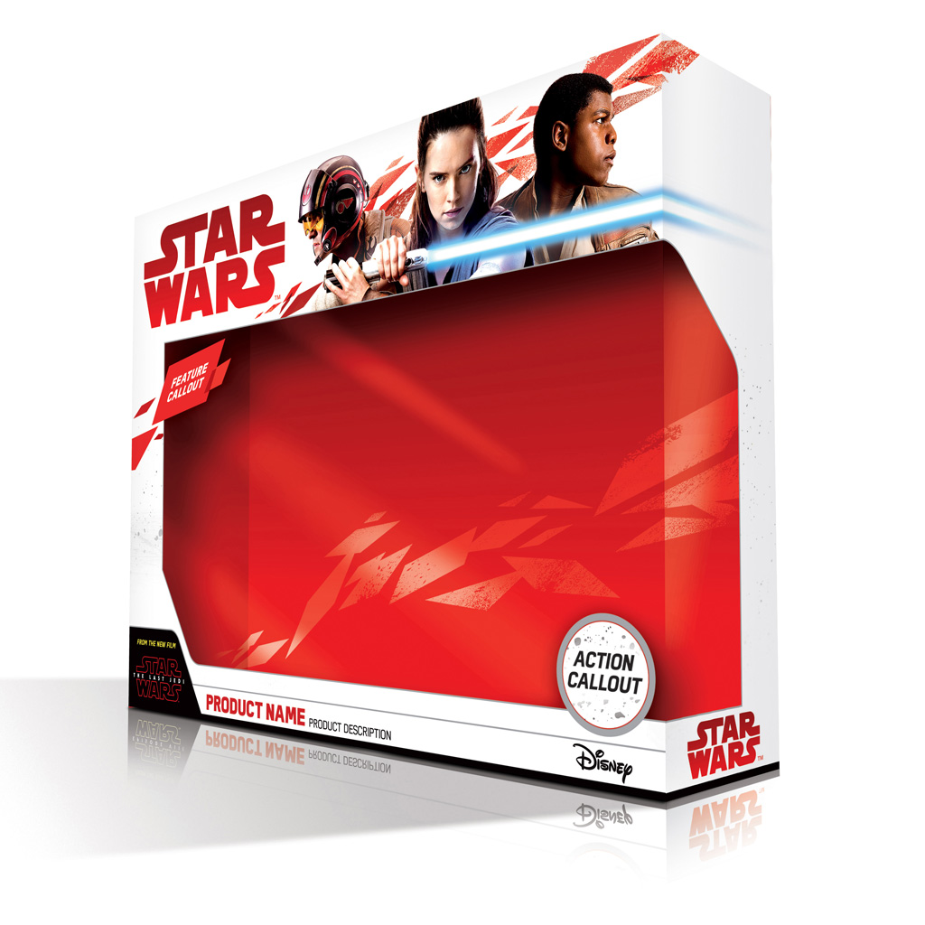 Packaging del Episodio VIII