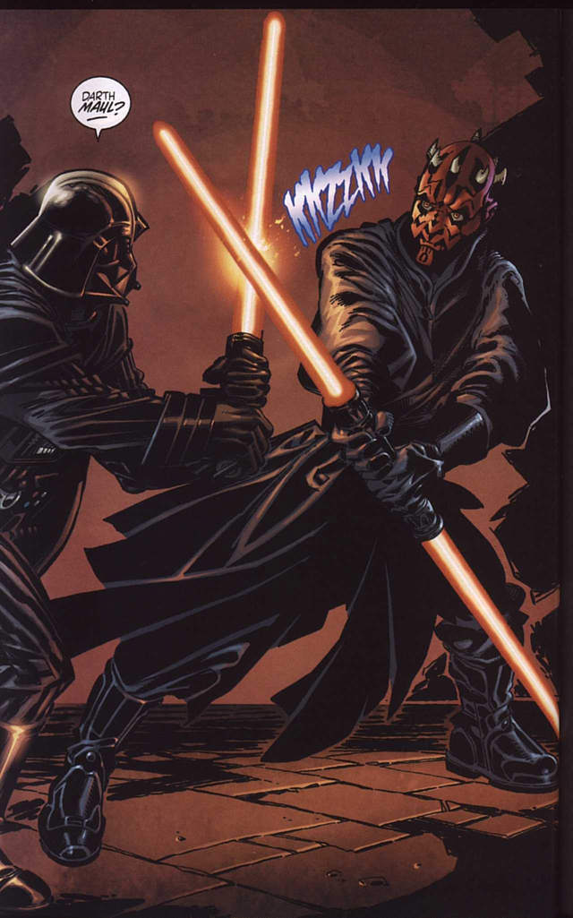 Maul contra Vader